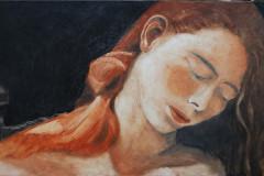 4 Homage an Caravaggio 50x100